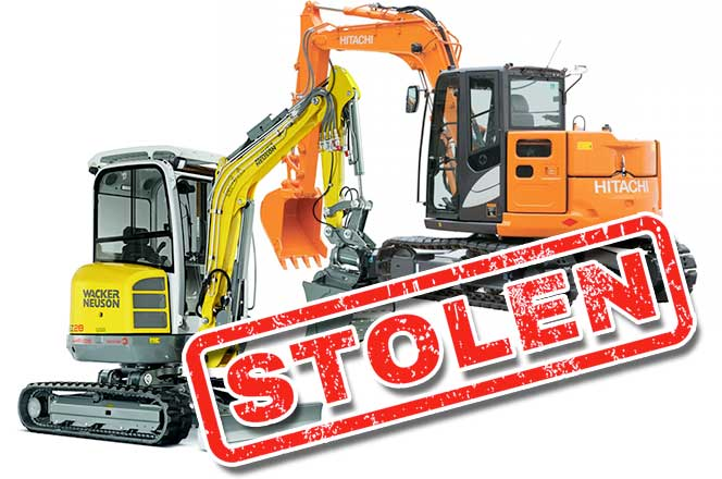 EXCAVATOR THEFT ALERT!! - STOLEN THROUGH FRAUDULENT HIRE!!