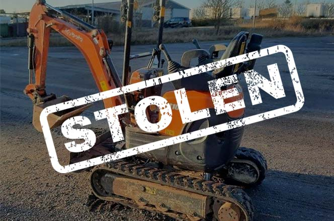 THEFT ALERT - CAMBRIDGESHIRE DEPOT RAM-RAIDED